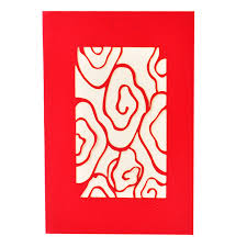 creative souvenir chinese dragon papercraft 3d pop up card for