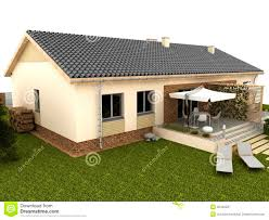 house s two storey bungalow with green rooftop garden designed by