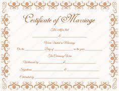 vintage free printable marriage certificates wedding ideas