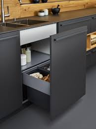 beautiful black matt kitchen from leicht available at the leicht