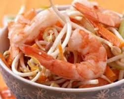 recette cuisine chinoise recette de salade chinoise de soja et crevettes par