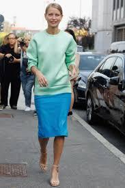 striped pencil skirt dress ala sweatshirt and pencil skirt dress ala