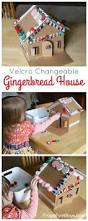 decorate and redecorate this adorable velcro gingerbread house