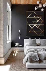 resume design minimalist room wallpaper abstract print poster gold triangles print geometric print