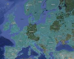 Map Street View European Countries With Without Google Street View 1240x987 Europe