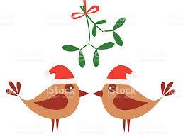 birds and mistletoe stock vector art 165676539 istock