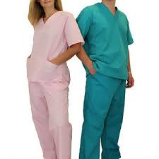 doctor nursing scrubs set uniforms unisex for