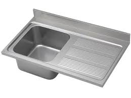 stainless sink with drainboard single bowl kitchen sink stainless steel with drainboard