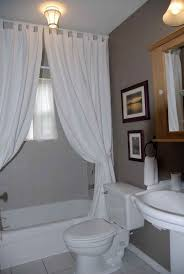 Bathroom Curtain Ideas For Windows Master Bathroom Curtain Ideas How To Dress A Small Bathroom Window