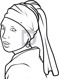 how to draw with a pearl earring with a pearl earring