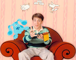 blue u0027s clues u0027 turns 20 host steve admits hated pants