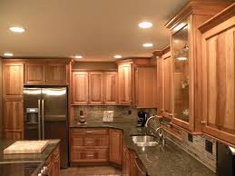 Hickory Kitchen Cabinets Kraftmaid Sunset Hickory Cabinets Kitchen Home Decorating Ideas