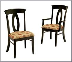 wingback dining chair with nailhead trim chairs home design