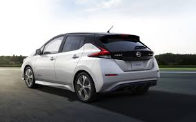 all new 2018 nissan leaf unveiled with increased power u0026 range