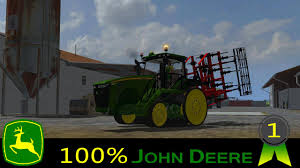 john deere tractor game 8335r john deere tractor john deere l la new holland t6 john deere farming simulator 2013 ep1 100 john deere youtube