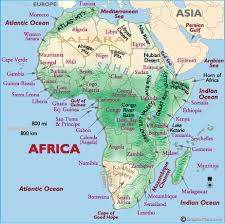 africa map atlas howingtonworld africa map directions