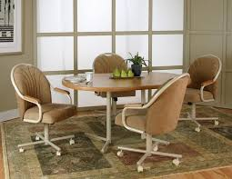 Kitchen Chairs With Casters Kitchen Chairs With Casters Kitchens - Dining room chairs with rollers