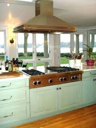 range in kitchen island wolf range top kitchen island with stove how to vent a