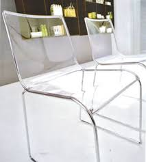 Plastic See Through Chair Transparent Gadgets And Creative Designs