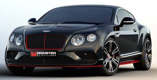 bentley coupe gold bentley continental gt monster by mulliner monster