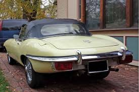 1971 jaguar xke e type roadster believed to be original primrose
