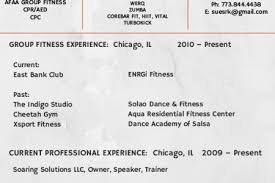 Instructor Resume Example by Fitness Instructor Resume Samples Visualcv Resume Samples Database