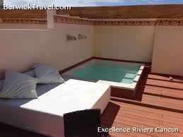 Pool Beds Furniture Hydrospa Pool And Day Bed On Upper Deck Of Rooftop Suite