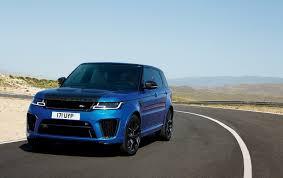 chrome range rover sport 2018 range rover sport svr facelift has carbon hood autoevolution