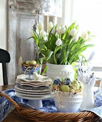 Easter Kitchen Decorations by 32 Refreshing Spring Kitchen Decor Ideas Comfydwelling Com