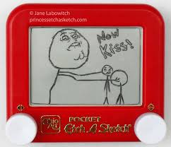 now kiss etch a sketch by pikajane on deviantart