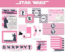 wars birthday party wars party ideas princess leia hot pink birthday