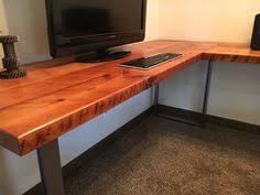 reclaimed wood l shaped desk l shaped desk reclaimed wood desk wood and steel desk industrial