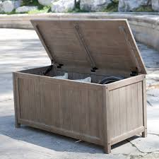 captivating patio storage boxes with outdoor storage box taupe in