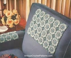 free crochet patterns for home decor modern chair set free crochet home decor pattern
