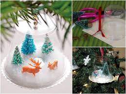 diy handmade ornament using plastic cups find