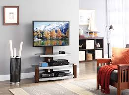 Tv Stand With Back Panel Amazon Com Whalen Furniture Proec41 Nv Flat Panel Television