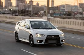 mitsubishi sports car buy the first 2015 mitsubishi lancer evolution final edition for