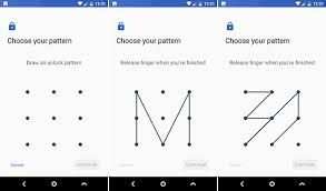 pattern lock design images password vs pin vs fingerprint the best way to lock your android