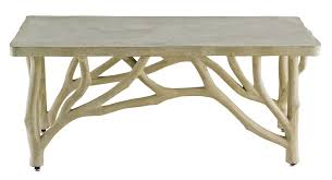 Concrete Table And Benches Creekside Table Bench Currey U0026 Company
