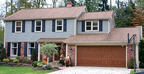 colonial home garage doors for colonial home style