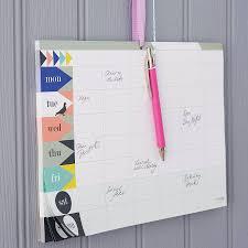 bureau cabinet m ical geometric weekly planner pad weekly planner planners and