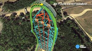 take a virtual ride on the world u0027s tallest roller coaster youtube
