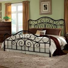 bedroom furniture white metal double bed frame full size bed