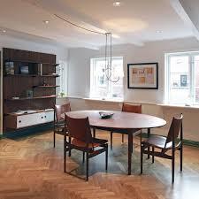 scandinavian dining room furniture scandinavian design dining table oak walnut teak silver