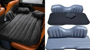 this inflatable car mattress will make you never want to leave