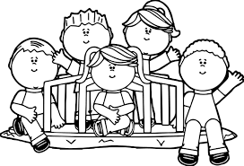 kids in park coloring page wecoloringpage
