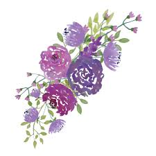 wedding flowers clipart purple clipart wedding bouquet pencil and in color purple