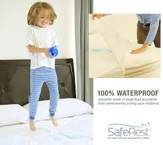 amazon com twin size saferest premium hypoallergenic waterproof