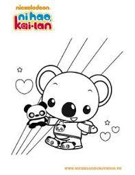 ni hao kai lan coloring pages coloring book esmerelda u0027s