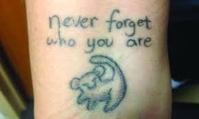 lion king u0027 inspired tattoo represents staying true hilltop views